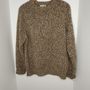 LL Bean rag wool sweater